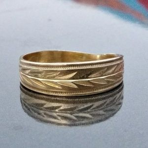 14k gold band style